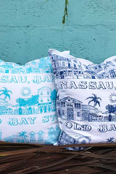 Old Bay Street indoor pillow cover