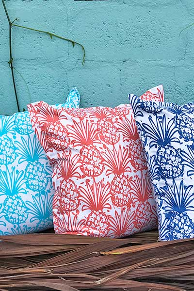 Pineapple indoor pillow cover